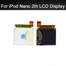 Original 100% tested For Apple ipod Nano gen 2th LCD display without touch screen replacement parts free shipping+tools