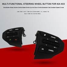 Modificado Atualizada Chamada Bluetooth Volante Botão de Controle de Cruzeiro  Multi-funcional KX3 Switchs Para Kia 3fca46ce83677