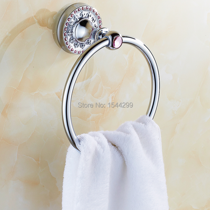 Bathroom Accessories Bathroom Towel Ring Hardware Accessories Furniture Handle<br><br>Aliexpress