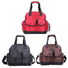 Baby Diaper Bags For Stroller Big Capacity Stroller Fashion Mummy Maternity Thermal Insulation Mummy Bags Strollers Accessories(China)