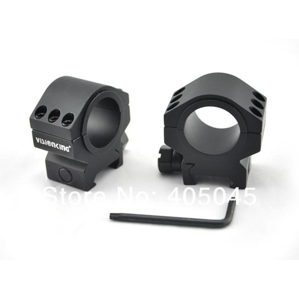 Visionking Mount Ring For RifleScope 25.4mm 30mm Tube Mounts For .223 .308 .50 Cal Riflescope Aluminum Mounting Ring Shockproof<br><br>Aliexpress