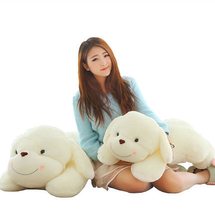 Pernycess 1pcs 100cm Papa Dog plush toy cute pillow to sleep<br>