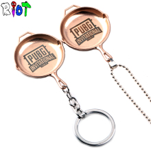 Buy 2017 New STG Game Playerunknown's Battlegrounds Pans Weapon Model Beads Chain Pendant Necklace PUBG INVITATIONAL Logo Keychain for $2.19 in AliExpress store