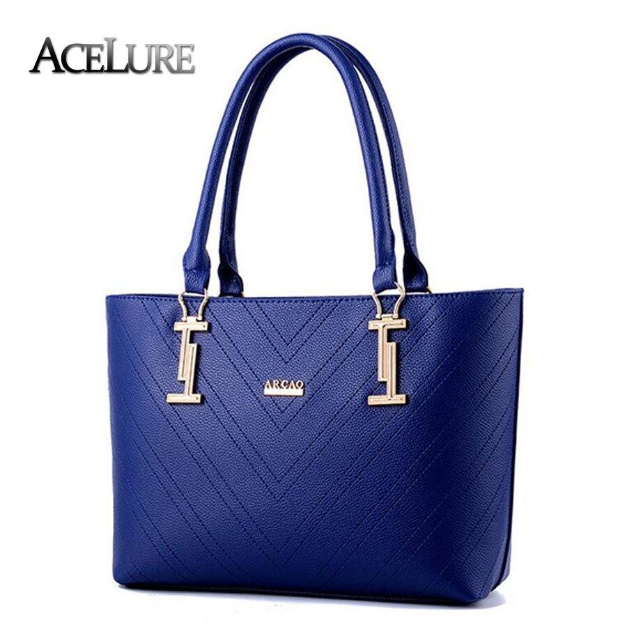 Women Gray Black Handbags Ladies Casual Pu Leather Shoulder Bags Bolsa Feminina Feamle Fashion Tote Bags Sac A Main 8437<br><br>Aliexpress