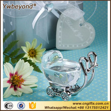 20pcs/LOT Choice Crystal Baby Carriage Favors Newborn Baby Souvenir Baptism Favors Baby Shower