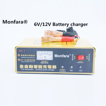 Buy New 220V Motorcycle Car Battery Charger Intelligent Pulse Repair Battery Charger 6V/12V 80AH Motorcycle charger for $13.60 in AliExpress store