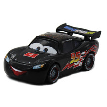 Disney Pixar Cars No.95 Black HongKong Off Road Racers Car Diecast  Metal Toy Macqueen  Cartoon Movie Alloy Car Toy 1:55