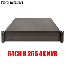 Buy Yanivision 2U CCTV NVR H.265/H.264 64CH 4K 8MP /5MP/3MP/2MP 1080P Support 9HDD 64 Channel Security Network video recorder for $415.80 in AliExpress store