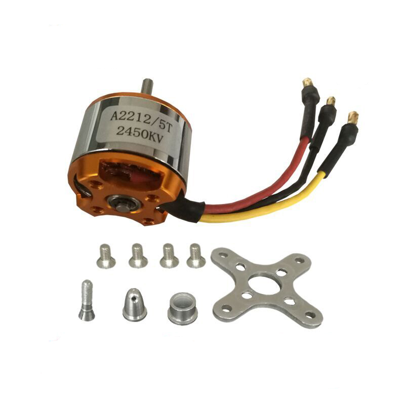 A2212 KV1400 KV1000 KV2200 KV2450 RC Brushless motor rc spare parts Firepower for DIY airplane helicopter X525 F450 F550