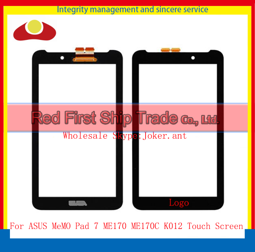 High Quality 7inch For ASUS MeMO Pad 7 ME170 ME170C K012 Touch Screen With Digitizer Sensor Panel Front Glass Lens+Tracking Code<br><br>Aliexpress