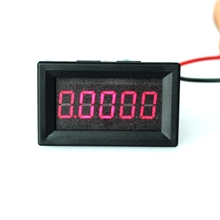 "0.36"" 5 Digits 0-3.0000A DC Ammeter Digital amp Ampere panel Meter Red LED Electric Current Tester Gauge Built-in Shunt(China)"