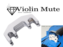 Violin Parts & Accessories New Professional Violin Practice Mute Metal Silver/golden Fiddle Silent Silencer violin mute metal