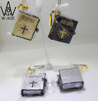 Mini Holy Bible English Words With Key Ring a Cross Design Religious Christian Jesus Special Book Gift say hi 50830