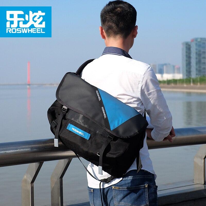 ROSWHEEL outdoor sports bike messenger bags bicycle postman bag cycling bag backpacks accessories waterproof<br>