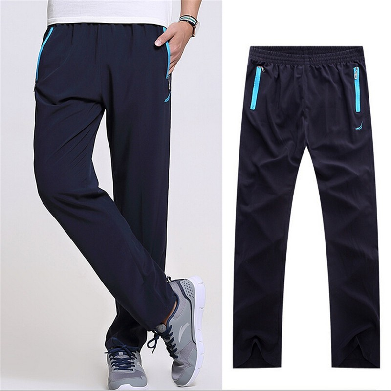 2017 new fashion Summer Autumn men casual pants sweatpants outside trousers joggers baggy pants men trousers 519(China)