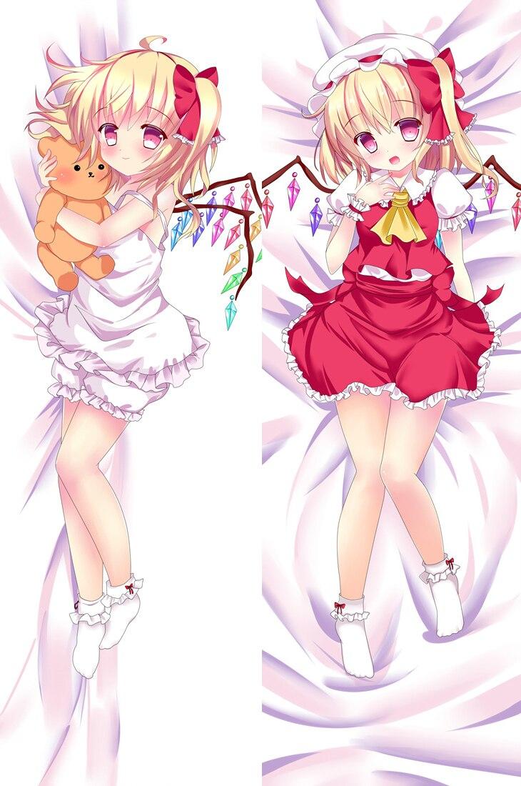 Japan Anime Dakimakura Touhou Project Hugging Body Pillow Case Cover 50*150cm DF