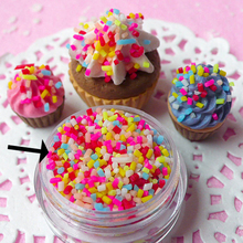 Fimo Clay Material Simulation Chocolate Sprinkles Sugar Needle Simulation Ice Cream Cake Decoration(China)