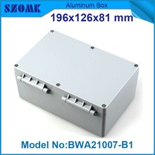 1 piece free shipping  small aluminum boxes industrial electric outlet case distribution box 72.5x115x184.83mm