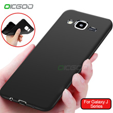 OICGOO Soft Matte Silicone TPU Case For Samsung Galaxy J5 J7 2015 2016 Case For Samsung Galaxy J500 J700 J510 J710 Phone Cases