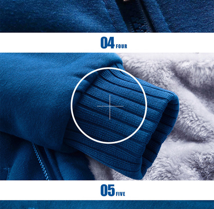 Hoodies Sweatshirt Men 17 New Autumn Winter Warm Thick Solid Casual Brand Tracksuit Men's Sweatshirts Hooded Plus Size 5XL 11