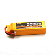 TCB RC Lipo battery 4S 14.8V 5200 mAh 35c for RC model aircraft airplane car boat lithium polymer batteria 4s
