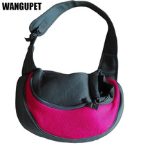 WANGUPET Puppy Cat Carriers Pet Dog Out Portable Bag Shoulder Bag Messenger Backpack Dog Pet Pet Products Factory Direct Sales(China)