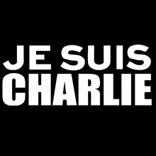 Je Suis Charlie I Am Paris France Memorial Sticker Car Styling Jdm Art Car Window Vinyl Decal Jdm(China)