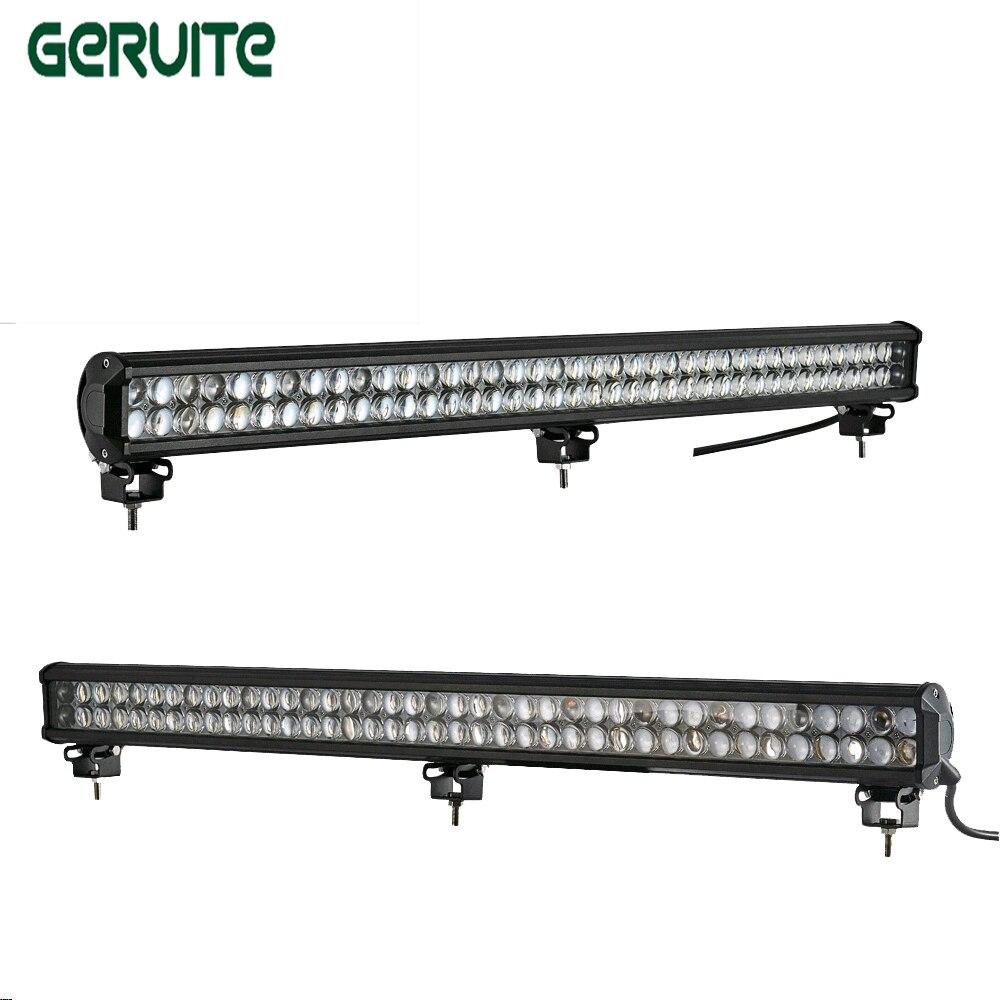 New 2pcs 4D 234W 6000K 23400lm Car-stying LED Work Light Lamp for Driving Truck SUV OffRoad Car Spot Light lamp car headlight<br>
