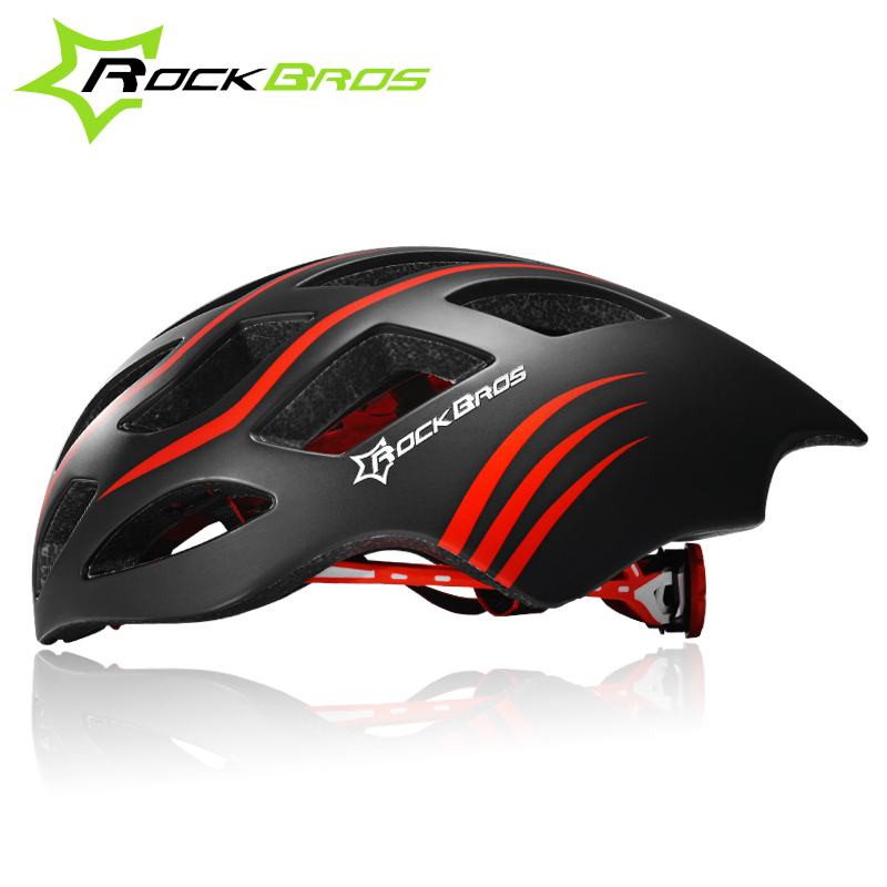 Rockbros Cycling Helmet Mens Triathlon Road Bike Helmet Casque Velo Route Ultralight Streamline Style Bicycle Helmet Casco Bici<br>