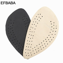 Buy EFBABA Leather Insoles Forefoot Pad Cushion Thickening Extended Slip High Heel Insole Women Shoe Insert Accessories Chaussure for $8.53 in AliExpress store