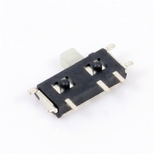 10pcs MSK12C02 MINI Miniature SMD Slide Switch 1P2T 7Pin For DIY Electronic Accessories