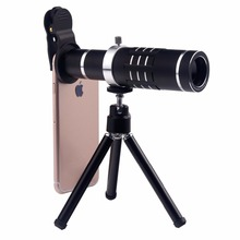 Buy Universal 18X Zoom Mobile Phone Optical Camera Telephoto Lens Telescope Mini Mount Tripod iPhone Samsung Smartphone for $24.85 in AliExpress store