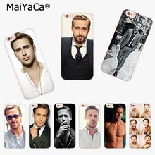 Buy MaiYaCa Ryan Gosling New Arrival Fashion phone case cover Apple iPhone 8 7 6 6S Plus X 5 5S SE 5C 4 4S Mobile Cover for $1.36 in AliExpress store