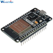 ESP-32 ESP-32S Wireless WiFi Bluetooth Development Board 2.4GHz Micro USB CP2102 Dual Core Module ESP32 With Pins Beyond ESP8266(China)