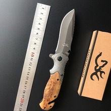CS GO carbon fiber with rosewood Folding knife cold steel ganzo Tactical hunting camping survival Pocket Knife