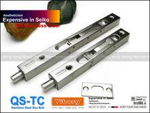 "VIBORG 20CM (8"") SUS304 Stainless Steel Door Bolt Security Door Guard Lever Action Flush Latch Slide Bolt Lock(China)"