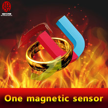 live escape Real life escape room game prop magic ring to run away from the room; magic ring to open the door,  magnetic sensor