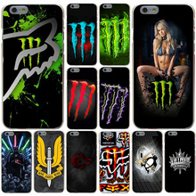 Sports Fox Racing Star Wars King Hard Transparent Case Cover for iPhone 4 4S 5 5S SE 5c 6 6s 7 7 Plus