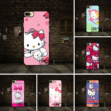 Pink Hello Kitty Cell phone Case Cover For Huawei P6 P7 P8 P9 P10 Lite Honor 3 4 4X 4C 7 V8 For LG G3 G4 G5