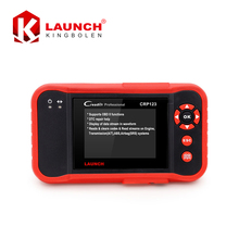 Original LAUNCH X431 CRP123 Code Scanner x-431 CRP 123 4 systems Diagnostic Tool Online Update