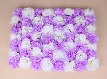 EMS Free 10pcs/lot Artificial dahlia flower wall panel wedding backdrop arch flore decoration table flower ball centerpiece