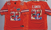 Nike 2016 Florida Gators Blue  E.SMITH #22  WINSTON #5 Star and Players picturesT-shirt Limited Jersey