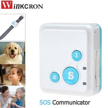 Portable GPS Tracker RF-V16 Real-Time with SOS Communicator for Kids Child Elderly Personal GSM / GPRS / GPS Tracking Device(China)