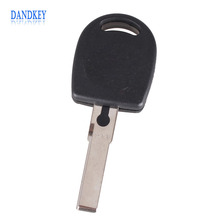 Dandkey 10Pcs/lot New Arrival Blank Shell For Volkswagen (VW) B5 Passat Transponder Key (HU66) + with logo Free Shipping