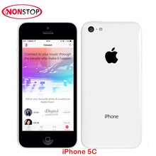 Original Unlocked Apple iPhone 5C 32G iPhone 5c White iOS Dual Core 16GB/32GB 8MP Camera 4.0 inches WIFI GPS 3G Mobile Phones(China)