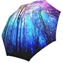 Steam Train Folding Parasol Sun/Rain Umbrella Anti-UV Protection custom Umbrella for Ladies(China)