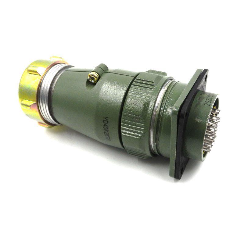 HAOGNCN Aviation Plug Socket YD40K26TP Connector YD40J26Z Round 26 Air Core Insert<br>