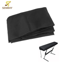 Black 61-Key Electronic Piano Cover Piano Dustproof Lamination Cloth Piano Keyboard Dust Sheet Cleaning Cloth Piano Accessories