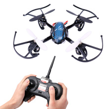 Mini RC Helicopter Drone 2.4Ghz 6-Axis Gyro 4 Channels Quadcopter Good Choice for Drone Training Drone YK017 VS HS107
