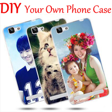 "DIY Photo images name logo design Customize Mobile Phone Case For Alcatel Pixi First 4027D Pixi 3 4.5"" 4G 4027X Flash Plus 2(China)"